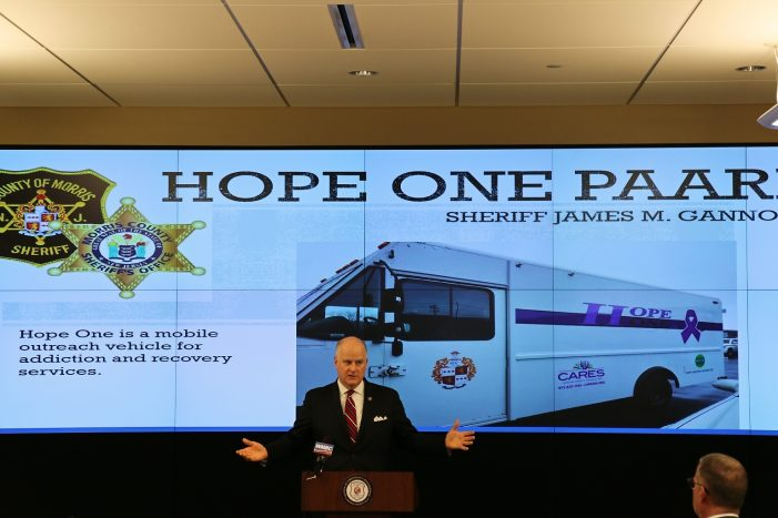 Morris County Sheriff's Office Opens as Drop In Center for Drug Addiction Services