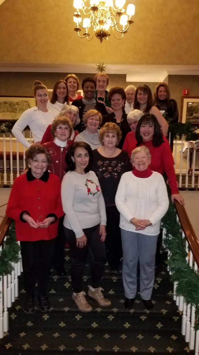 Soroptimist Group of Hackettstown Put Women First