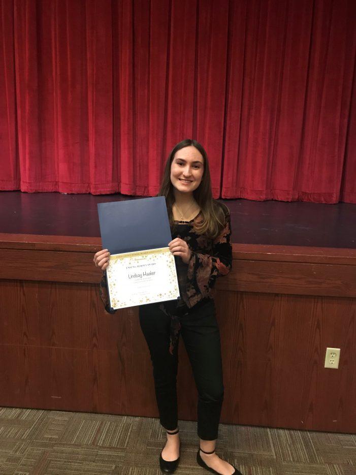 Livingston High School Senior Named Unsung Hero