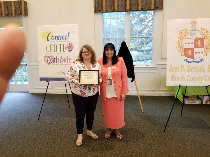 Mendham's Catherine Maresca Receives Cissy Laurey's Award Nomination