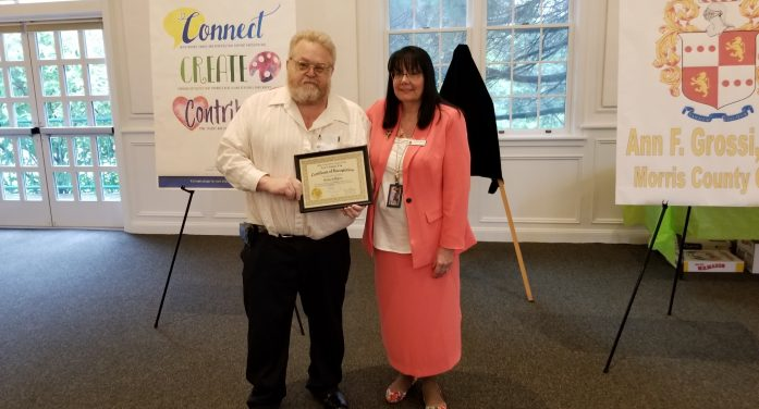 Mount Olive's Richard Moore Receives Cissy Laurey's Award Nomination
