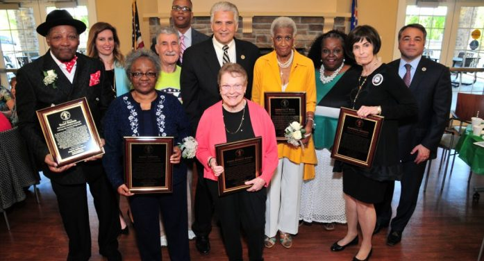 ESSEX COUNTY EXECUTIVE DIVINCENZO AND THE DIVISION OF SENIOR SERVICES CELEBRATE ESSEX COUNTY'S ANNUAL OLDER AMERICAN HERITAGE MONTH, LEGEND AWARDS ARE PRESENTED TO FIVE ESSEX COUNTY SENIOR CITIZENS