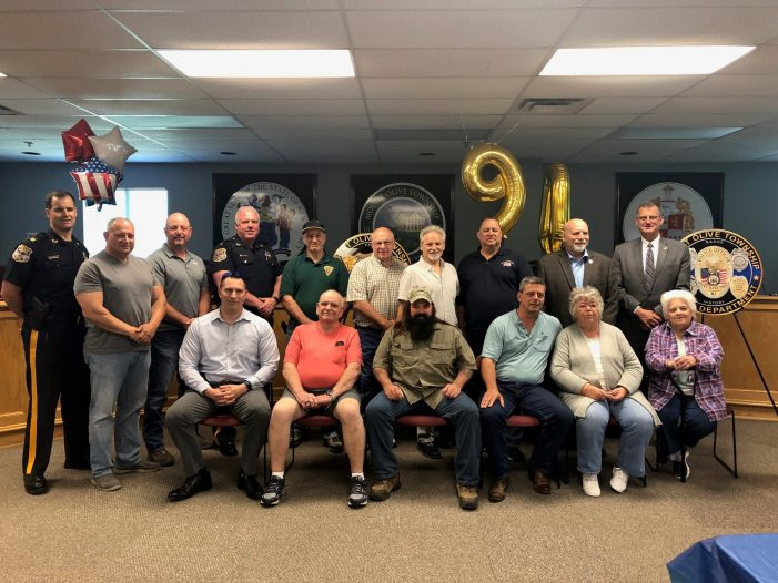 Mount Olive Police Department Celebrates 90th Anniversary of Serving