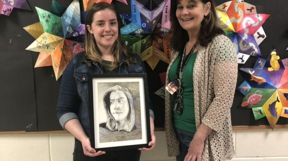 Hackettstown High School Senior Wins 2019 Congressional Art Competition