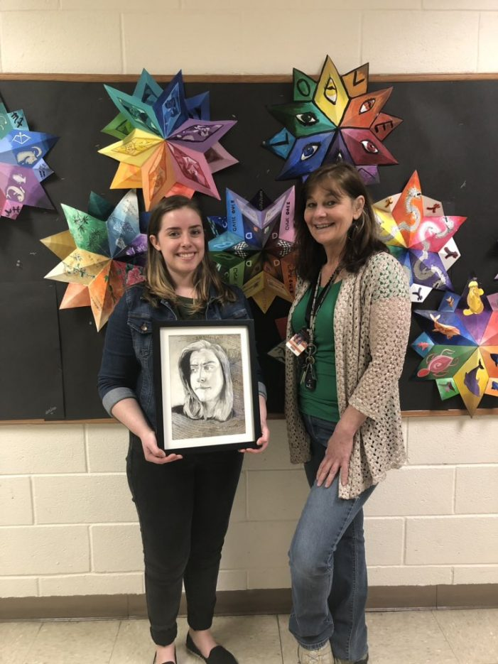 Hackettstown High School Senior Wins 2019 Congressional Art Competition