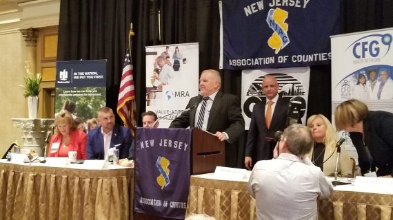 FREEHOLDER DOUG CABANA INDUCTED INTO NJAC STATEWIDE HALL OF FAME ONE OF A DOZEN INAUGURAL MEMBERS