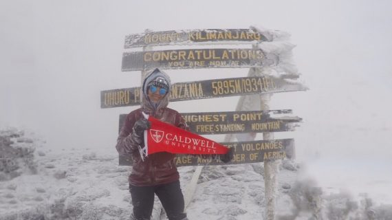 "Caldwell University Student Celebrates ""Once in a Lifetime"" Adventure"