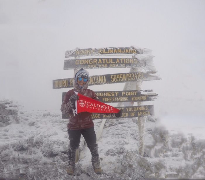 """Caldwell University Student Celebrates """"Once in a Lifetime"""" Adventure"""