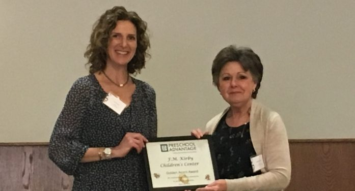 Preschool Advantage Honors F.M. Kirby Children's Center
