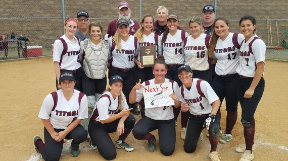 CCM Lady Titans Softball Team Advances to the Nationals Wrapping Up a Successful Academic Year