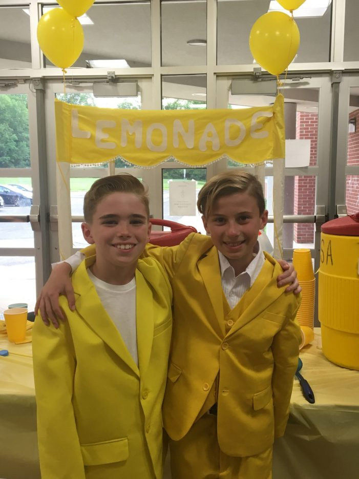 Mendham Students Raise More Than 3K for Childhood Cancer Research