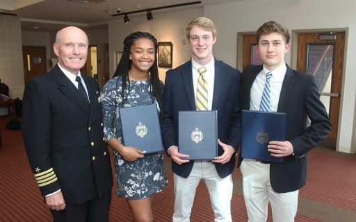 Three Morristown Beard Students Bound for the United States Naval Academy: Morristown Beard First in Nation to Have Three Appointments in One Year
