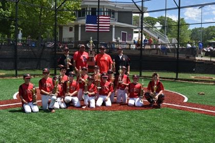 Mount Olive 10U Baseball Wins Memorial Day Weekend Tourney Championship