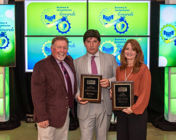 Schiano, Westpy Honored by Mount Olive Chamber