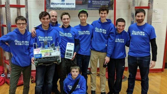 Millburn High School Robotics Enters and Wins VEX World Championship