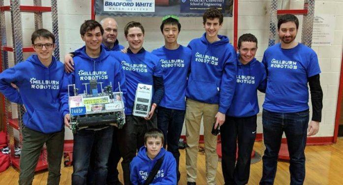Millburn High School Robotics Enters and Wins VEX World Championship