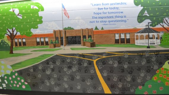 Mount Olive History Comes to Life in Mural at Tinc Road School