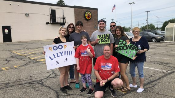 Hopatcong High Student, Resource Officer Share NJ Torch Run Together