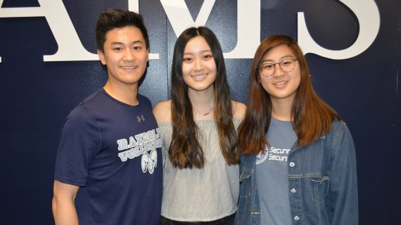 Randolph's Valedictorian and Salutatorians Prepare to Say Goodbye to High School