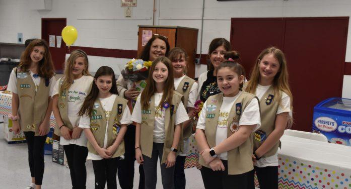 Cadette Girl Scout Troop #95705 held a Kindness Workshop