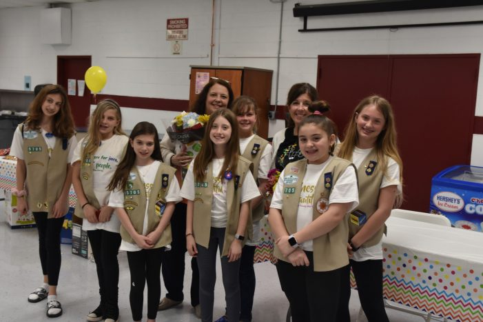Cadette Girl Scout Troop #95705 held a Kindness Workshop