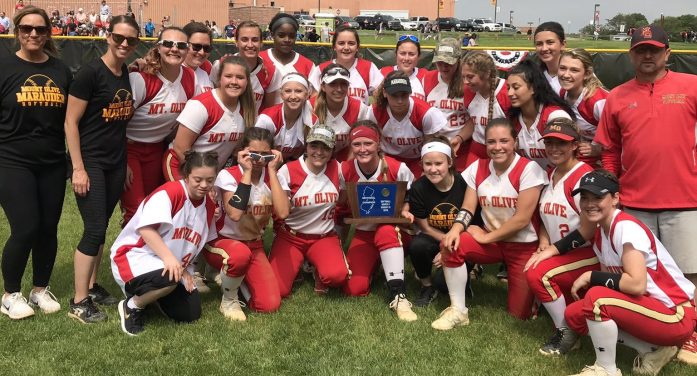 Mount Olive Softball Wins Sectional Title