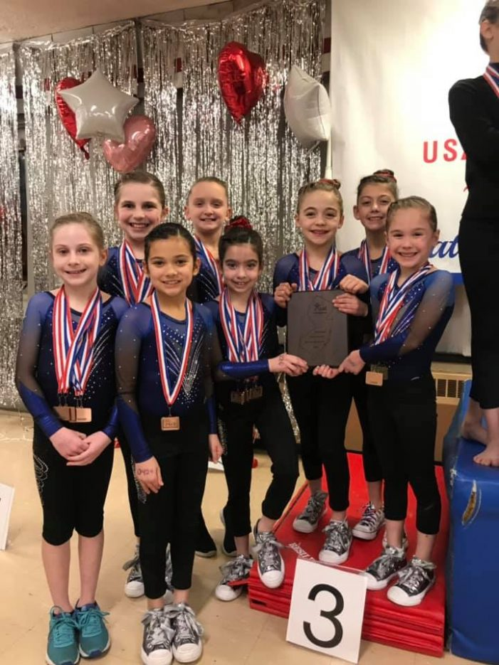 West Caldwell Gymnasts Earn Top Honors at NJ State Championships