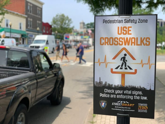 Morristown Urges Pedestrian Street Smarts with New Campaign