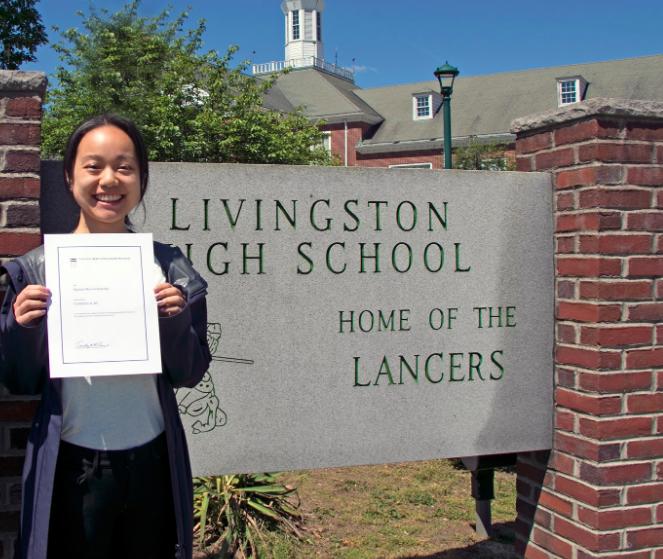 Livingston Grad Named US Presidential Scholar
