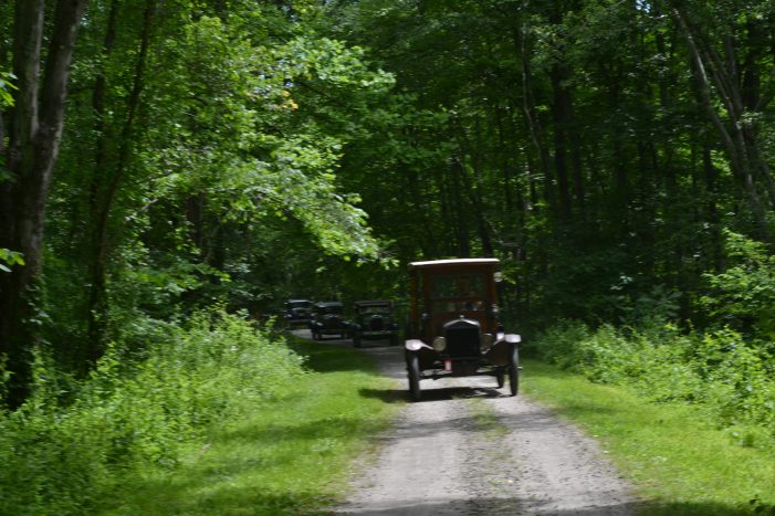 Model A Club Takes Cars Out on Historical Back Roads