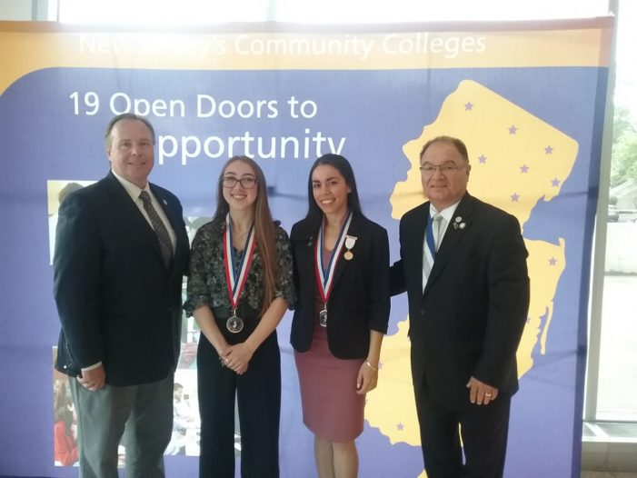WCCC Pair Among 38 Recognized by NJ Council of County Colleges