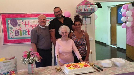 Presbyterian Church of Livingston Member Celebrates Birthday #100