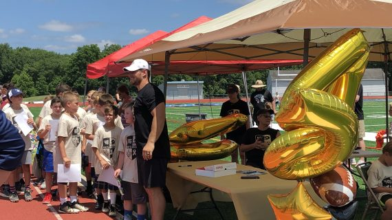 Long Valley Native Mike Burton Teaches Love of the Game and Giving Back