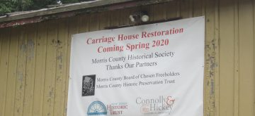 Morris County Historical Society Awarded Grants for Acorn Hall Carriage House Renovation