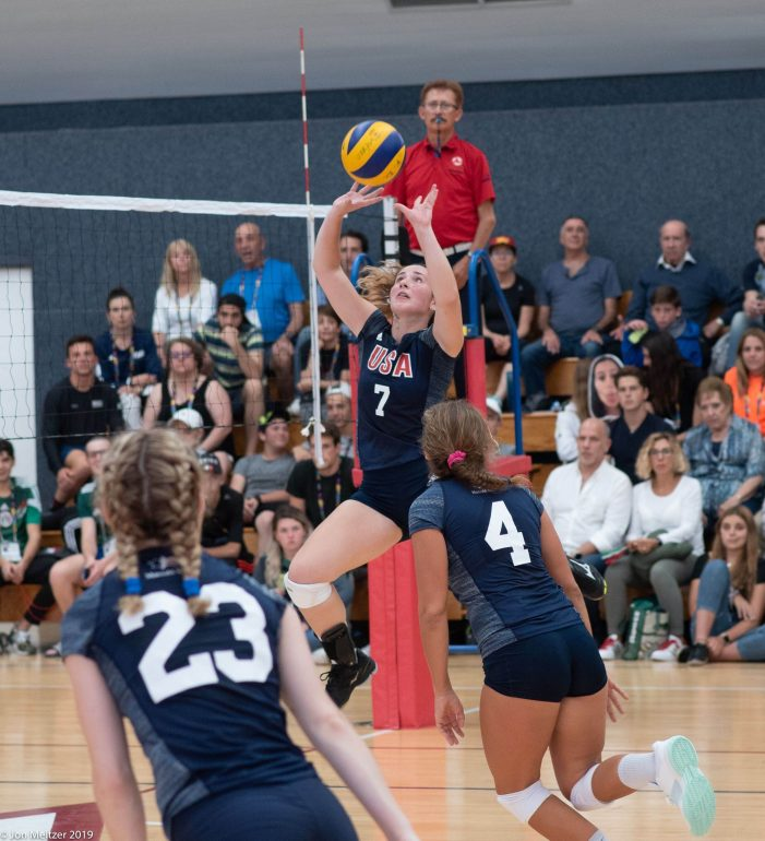 Livingston Volleyball Player Helps U.S. Women's Team Capture Silver in 2019 Maccabi PanAm Games