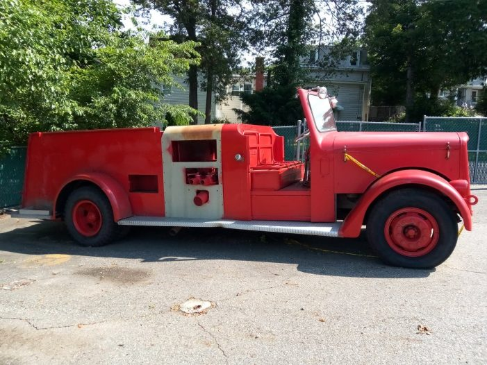 Butler Fire Department Hopes to Renovate 1955 Fire Truck