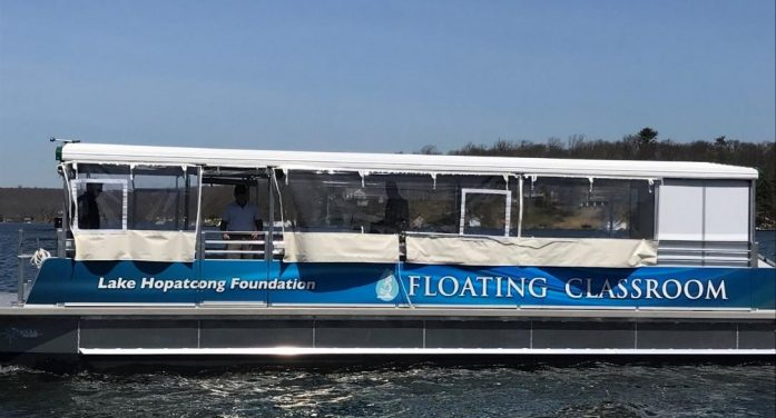 "Lake Hopatcong Foundation's ""Floating Classroom"" Cruises Open to Public"