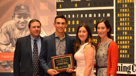 Yogi Berra Museum & Learning Center 2019 Investors Bank Best Teammate Award