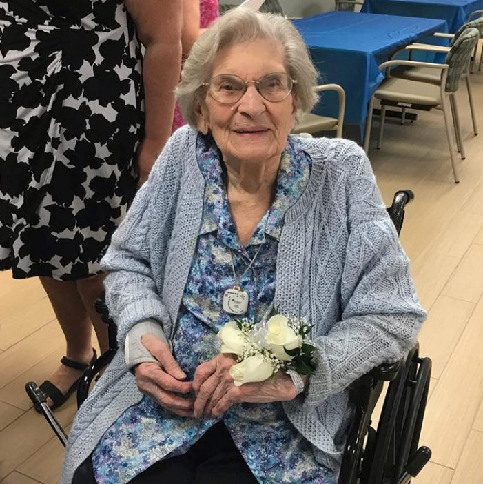 Dorothy Rupprecht Celebrates 100th Birthday at Paragon Village