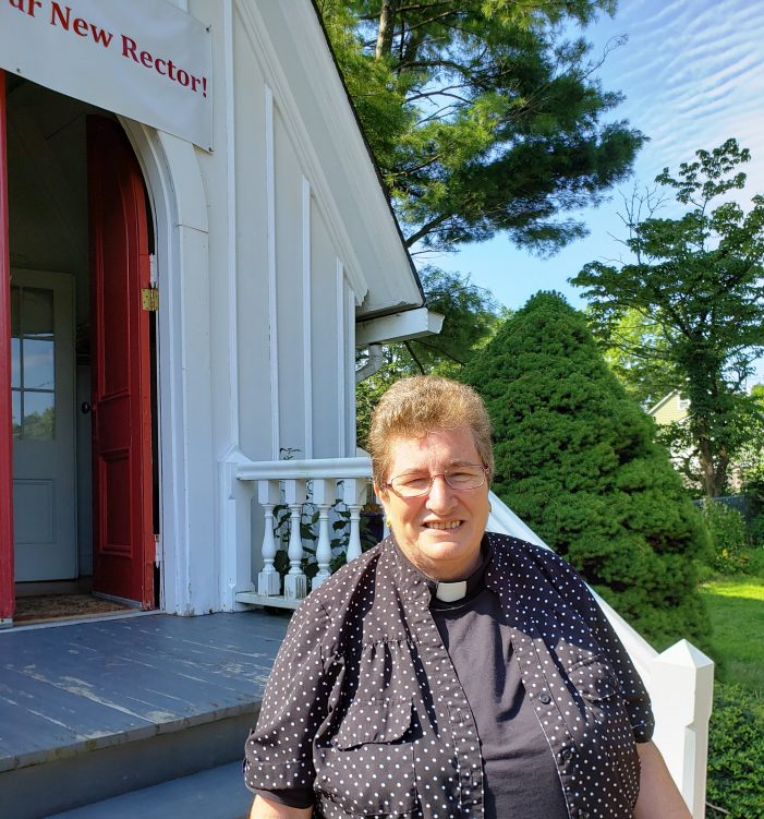 St. Mark's Welcomes New Rector Lorna Lloyd Erixson