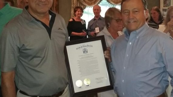Panther Valley Golf & Country Club Recognized on 50 th Anniversary