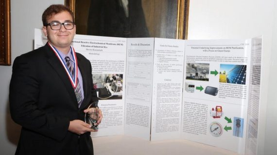 Livingston High Grad Wins 3rd in INT Tech Competition