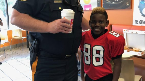 Coffee with a Cop Inspires Young and Old