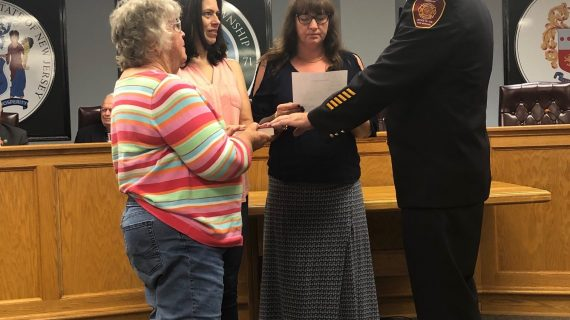Muccione Installed as New Fire Marshal