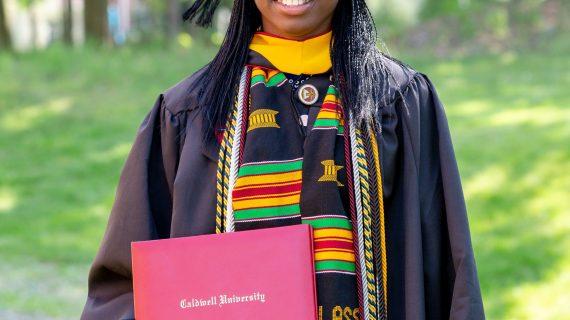 Caldwell University Alum, Favour Onose Garuba,Awarded $8,500 Phi Kappa Phi Fellowship