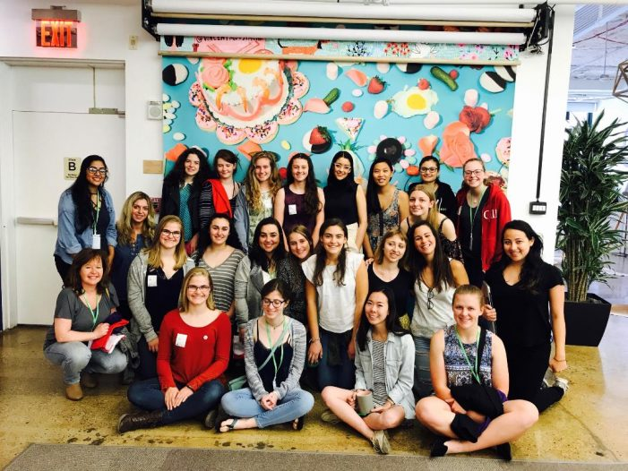 Girls Who Code Moving Forward at the Kinnelon Library