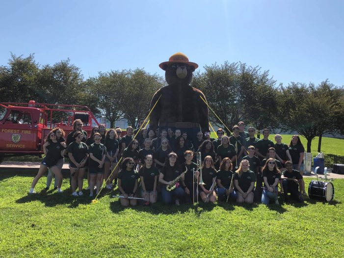 Hopatcong High Celebrates with Smokey the Bear