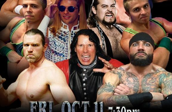 Roxbury's Tito Santana to Wrestle for IWF Wounded Vets Charitable Card