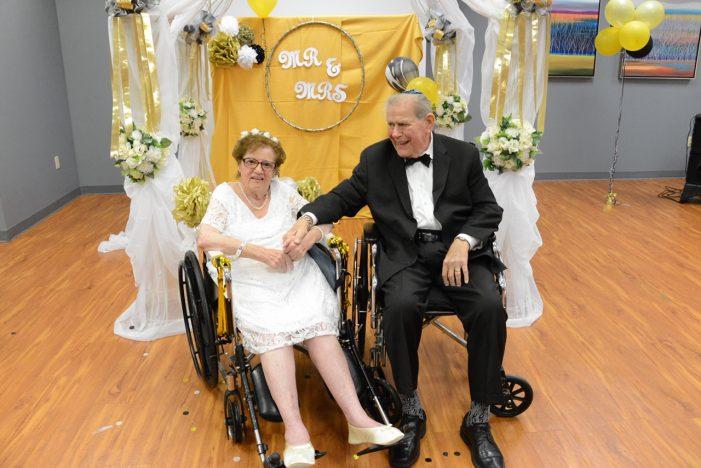 West Orange Nursing Facility Helps Couple Celebrate 65 Years Together