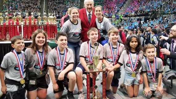 Millburn Takes First Place in Odyssey of the Mind World Championship